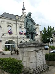 A photo of the Town Hall in Descartes.